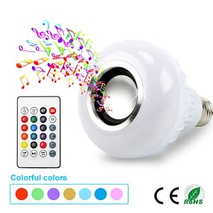 Smart Music Light Bulb Bluetooth Speaker Refuse You Lose brand: Refuse You Lose