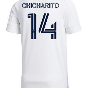 "Javier ""Chicharito"" Hernandez LA Galaxy MLS Soccer Jersey Refuse You Lose color: 2020-2021 Home