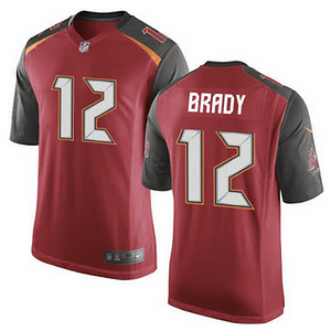 Tom Brady Tampa Bay Buccaneers NFL Football Jersey for Men, Women, or Youth Refuse You Lose color: White|Red
