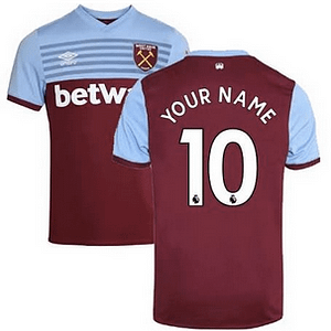 West Ham United F.C. Soccer Jersey for Men, Women, or Youth (Any Name and Number) Refuse You Lose color: Away Third Home