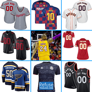 Sports Jerseys | Women, Youth, Men | Customizable