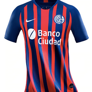 San Lorenzo de Almagro Soccer Jersey for Men, Women, or Youth (Any Name and Number) Refuse You Lose color: 2020-2021 Home|2020-2021 Road