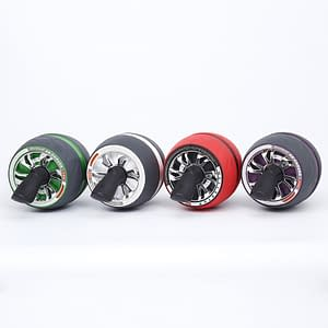 Automatic Abdominal Workouts Wheel Refuse You Lose color: Red|White|Green|Purple
