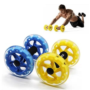 Crossfit Abdominal Exercise Roller Refuse You Lose color: Blue