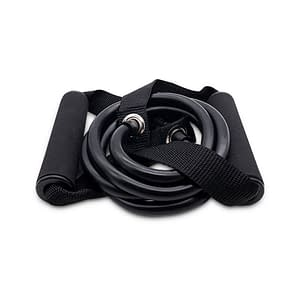 Rubber Resistance Band color: Black  Refuse You Lose
