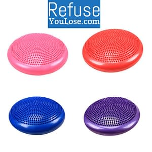 Inflatable Massage Balance Ball Refuse You Lose color: Blue|Red|Pink|Purple