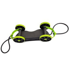 Full Body Pull Up Resistance Bands Roller with Kneeboard resistance: High Resistance|Normal Resistance  Refuse You Lose