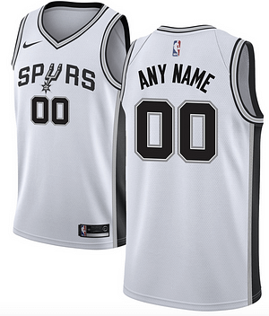 San Antonio Spurs NBA Basketball Jersey For Men, Women, or Youth (Any Name and Number) Refuse You Lose color: Black|Gray|White