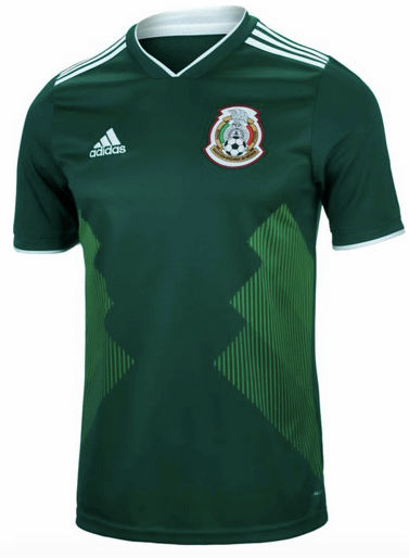 México Soccer Jersey For Men, Women, or Youth (Any Name and Number) color: 2018 Home 2019 Home 2019 Long Sleeve Home 2019 Pre-Match Away  Refuse You Lose