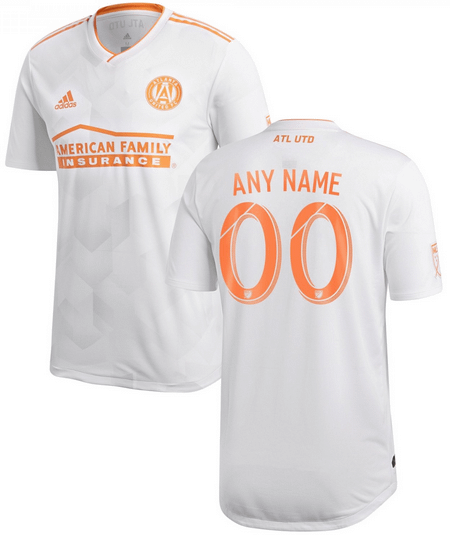 Atlanta United FC MLS Soccer Jersey for Men, Women, or Youth (Any Name and Number) Refuse You Lose color: 2018 Home 2018 Road 2019 Home 2019 Road