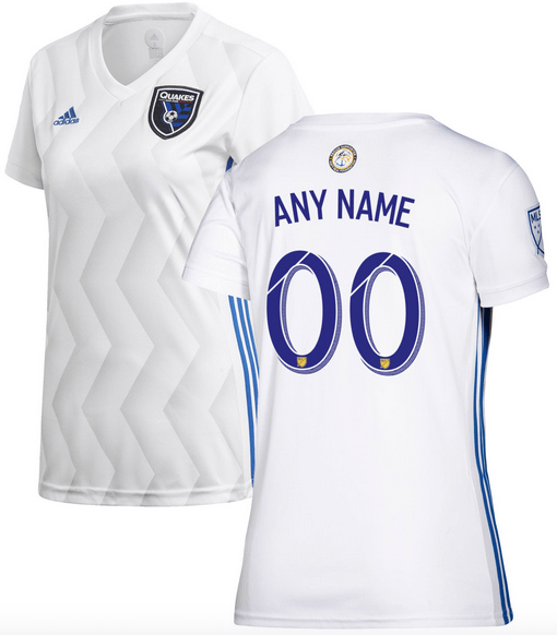 San Jose Earthquakes Mls Soccer Jersey For Men Women Or Youth Any Name And Number Refuse You Lose