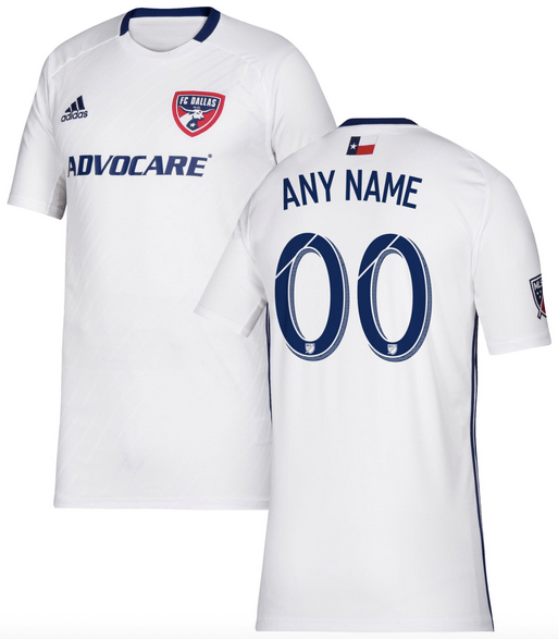 Fc Dallas Mls Soccer Jersey For Men Women Or Youth Any Name And Number Refuse You Lose