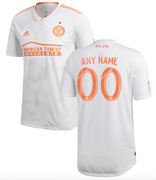 Atlanta United FC MLS Soccer Jersey for Men, Women, or Youth (Any Name and Number) color: 2018 Home 2018 Road 2019 Home 2019 Road  Refuse You Lose