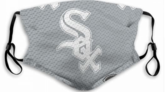 Chicago White Sox Face Mask For Kids or Adults color: Black SOX|Chicago Sox|Gray SOX  Refuse You Lose