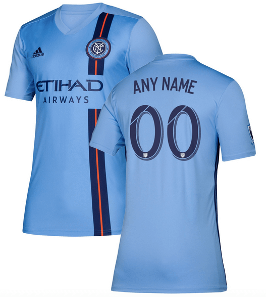 New York City Fc Mls Soccer Jersey For Men Women Or Youth Any Name And Number Refuse You Lose