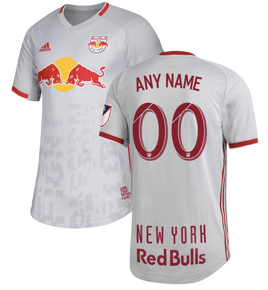 New York Red Bulls Mls Soccer Jersey For Men Women Or Youth Any Name And Number Refuse You Lose