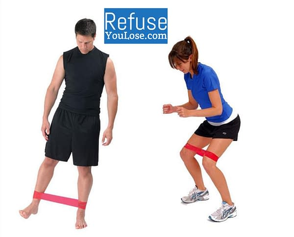 Pilates Resistance Band for Strength Training brand: Refuse You Lose  Refuse You Lose