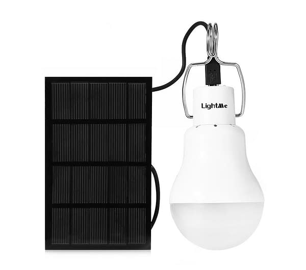 Rechargeable Solar Light Bulb Refuse You Lose brand: Refuse You Lose