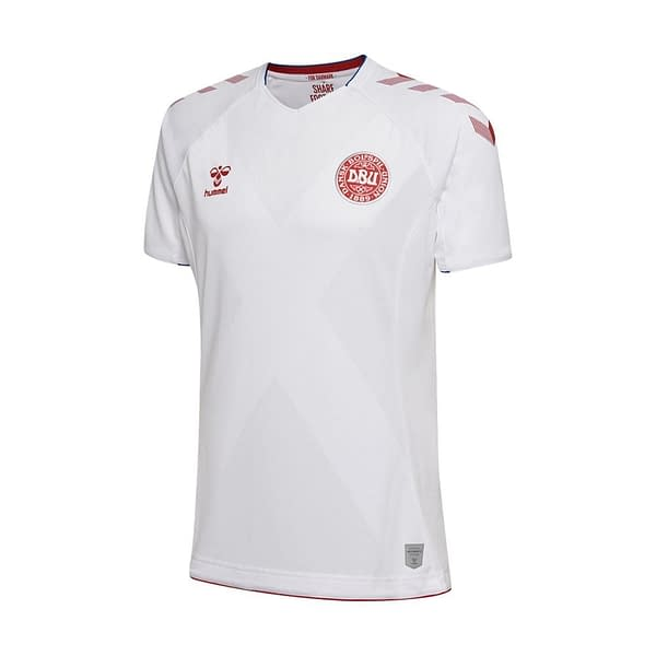 Customizable Denmark Soccer Jersey For Men, Women, or Youth Refuse You Lose color: 2018-2019 Home|2018-2019 Road|2020-2021 Home Concept|2020-2021 Road Concept