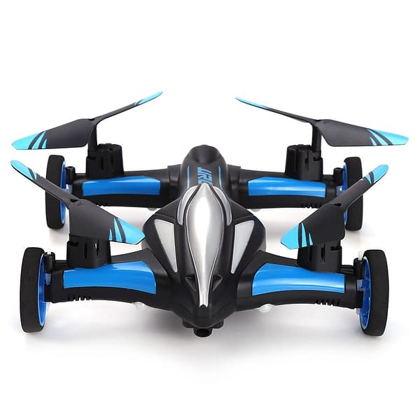 Remote Control Flying Car Drone Refuse You Lose color: blue and black