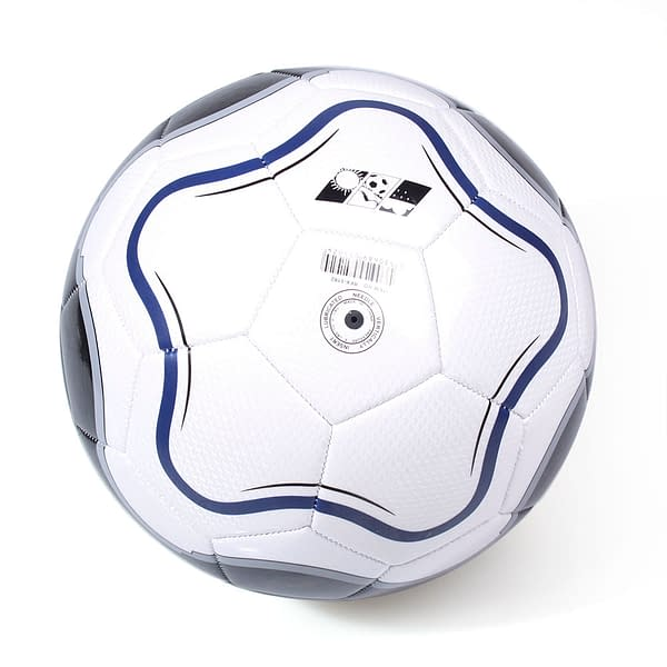 Size 5 Football Training Ball color: White  Refuse You Lose