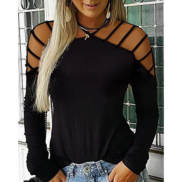 Fancy Blouse For Women Refuse You Lose color: Black Blue Red Pink