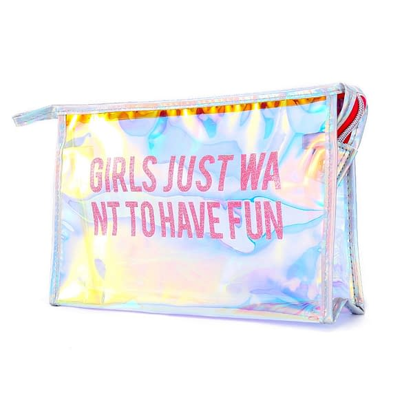 Girls Just Want To Have Fun Cosmetics Bag Limited Time Deals ⏳ 2020 New Deals 🎉 Best Gifts of 2020 🎁 Best Gifts of 2020 For Girls 👸🏻 Best Gifts of 2020 For Women 🌹 Deals For Women 👗 Accessories For Women color: Mix  Refuse You Lose https://refuseyoulose.com