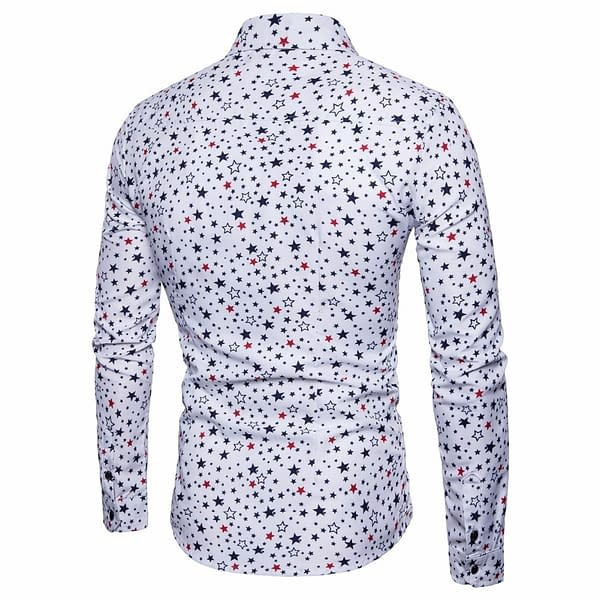 Star Printed Cotton Party Men's Shirt Limited Time Deals ⏳ 2020 New Deals 🎉 Best Gifts of 2020 🎁 Best Gifts of 2020 For Men 💪 Deals For Men 💪 Shirts For Men 🎽 color: Black Blue White  Refuse You Lose https://refuseyoulose.com