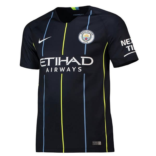 Manchester City 2018-2019 Road Soccer Jersey