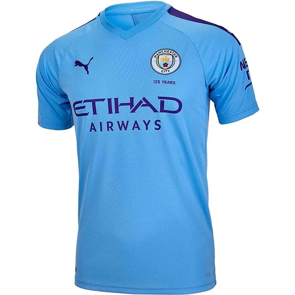 Manchester City 2019-2020 Home Soccer Jersey