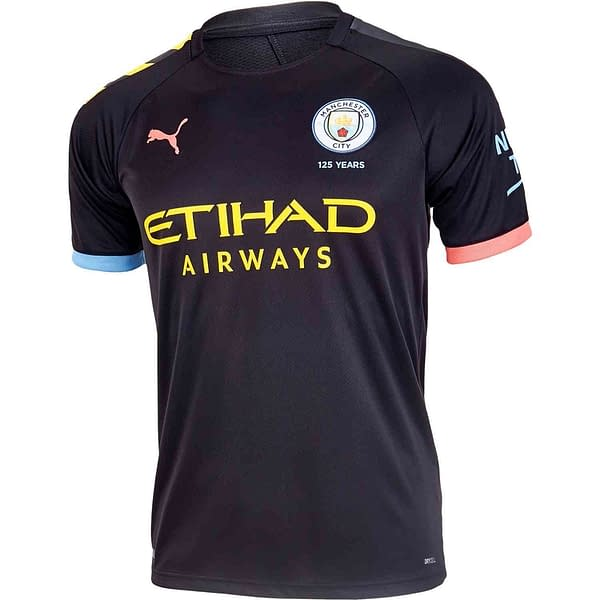 Manchester City 2019-2020 Road Soccer Jersey
