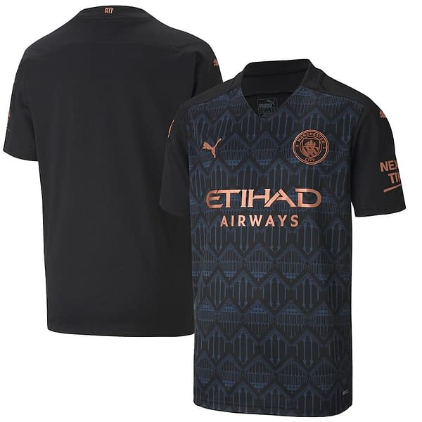 Manchester City 2020-2021 Road Soccer Jersey