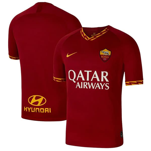 A.S. Roma Soccer Jersey for Women, Youth, or Men | Customizable color: 2019-2020 Home|2019-2020 Road|2019-2020 Third|2020-2021 Home|2020-2021 Road  Refuse You Lose