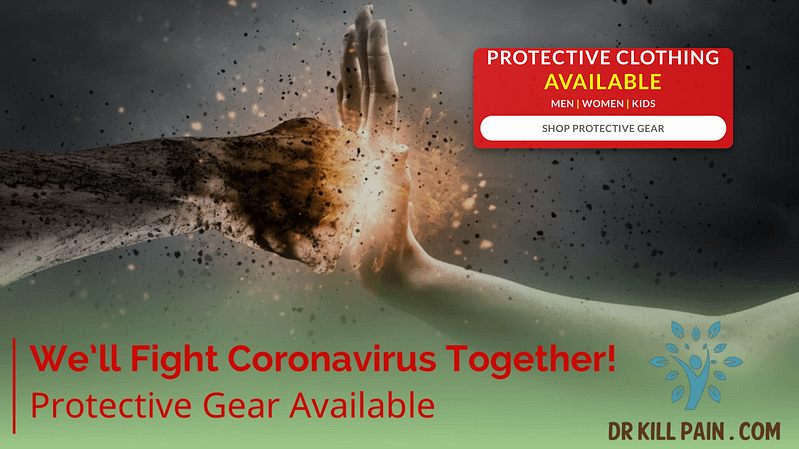 Protective Gear Against Coronavirus available at DrKillpain.com | Dr. Kill Pain