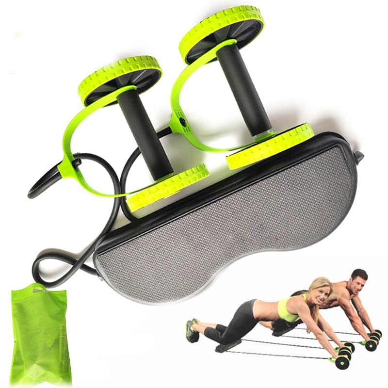 Full Body Pull Up Resistance Bands Roller with Kneeboard Refuse You Lose resistance: High Resistance|Normal Resistance
