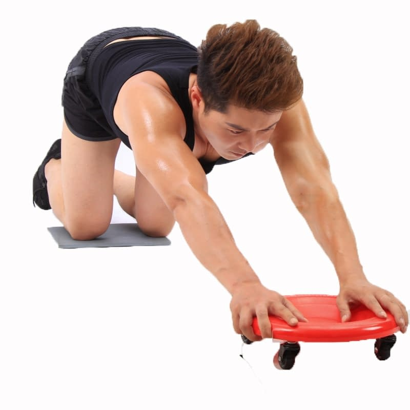 360 Degrees Abdominal Exercise Plate