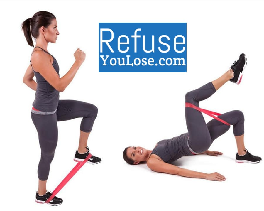 Pilates Resistance Band for Strength Training