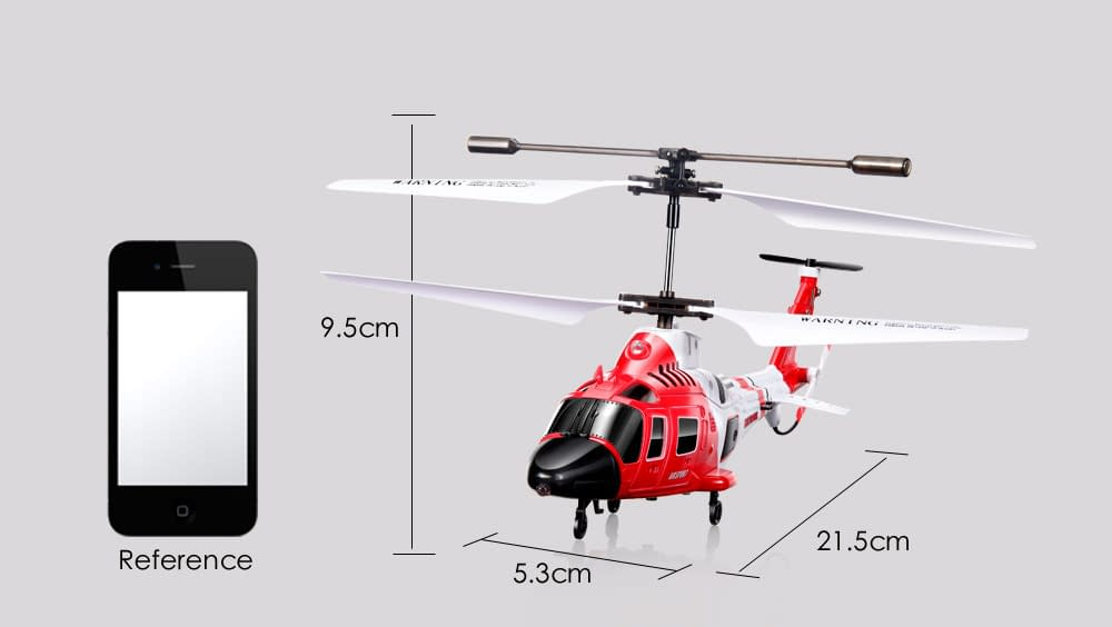 Red Remote Control Helicopter