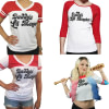 https://refuseyoulose.com Daddy's Lil Monster Short Sleeve T-shirt Of Harley Quinn Sportswear for Women color: White/Red 1|White/Red 2|White/Red 3|White/Red 4 Refuse You Lose https://refuseyoulose.com/shop/daddys-lil-monster-short-sleeve-t-shirt-of-harley-quinn/