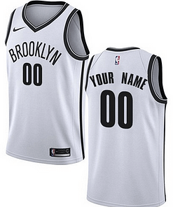 Brooklyn Nets NBA Basketball Jersey For Men, Women, or Youth (Any Name and Number) Gifts For Men Sports Jerseys For Men Sports Jerseys For Women Jerseys For Kids Sports & Jerseys Basketball Jerseys color: Black|Charcoal|White