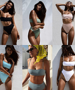 https://refuseyoulose.com Women's Sexy High Waist Bikini Women Swimwear 👙 Bikinis and Swimsuits For Women 👙 Swimming 🏊‍♂️ color: Black|England|Pink|White|Yellow|Argentina|BROWN|Giraffe Print|Gray / Blue|Green|Leopard Pattern|Polka Dot|Snake / Yellow|Snake Pattern|Striped Refuse You Lose https://refuseyoulose.com/shop/womens-sexy-high-waist-bikini/