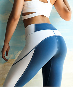 https://refuseyoulose.com High Waisted Patchwork Sports Women's Leggings Leggings & Pants For Women 👖 color: Blue|Gray Refuse You Lose https://refuseyoulose.com/shop/high-waisted-patchwork-sports-womens-leggings/