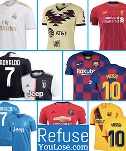 FIFA Club Soccer Jerseys