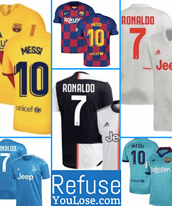 Top Selling Soccer Jerseys