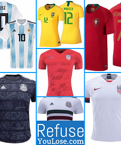 International Soccer Jerseys