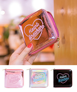 Heart Embroidery Holographic Short Wallet Limited Time Deals ⏳ 2020 New Deals 🎉 Best Gifts of 2020 🎁 Best Gifts of 2020 For Girls 👸🏻 Best Gifts of 2020 For Women 🌹 Deals For Women 👗 Accessories For Women color: Black|Pink|Silver Refuse You Lose https://refuseyoulose.com