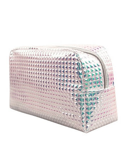 Holographic Textured Cosmetic Bags Limited Time Deals ⏳ 2020 New Deals 🎉 Best Gifts of 2020 🎁 Best Gifts of 2020 For Girls 👸🏻 Best Gifts of 2020 For Women 🌹 Deals For Women 👗 Accessories For Women color: Silver Refuse You Lose https://refuseyoulose.com