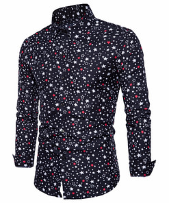 Star Printed Cotton Party Men's Shirt Limited Time Deals ⏳ 2020 New Deals 🎉 Best Gifts of 2020 🎁 Best Gifts of 2020 For Men 💪 Deals For Men 💪 Shirts For Men 🎽 color: Black|Blue|White Refuse You Lose https://refuseyoulose.com