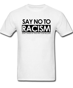 Say No To Racism Tops for Men Limited Time Deals ⏳ 2020 New Deals 🎉 Best Gifts of 2020 🎁 Best Gifts of 2020 For Men 💪 Deals For Men 💪 Shirts For Men 🎽 color: Black|Blue|England|Gray|White|Yellow|Dark Grey|Green|Navy Blue|Russia Refuse You Lose https://refuseyoulose.com