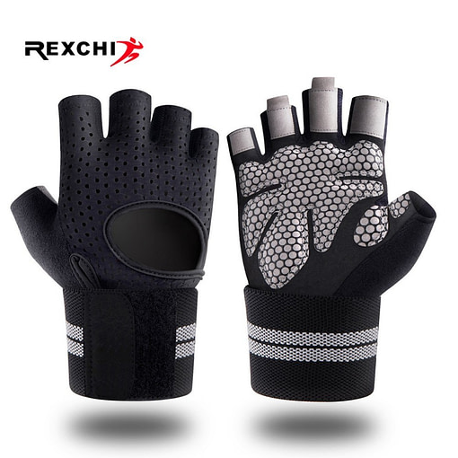 https://refuseyoulose.com Unisex Half Finger Lifting Gloves with Wrist Wrap Support Gloves 🥊🧤 color: Black|Pink Refuse You Lose https://refuseyoulose.com/shop/unisex-half-finger-lifting-gloves-with-wrist-wrap-support/
